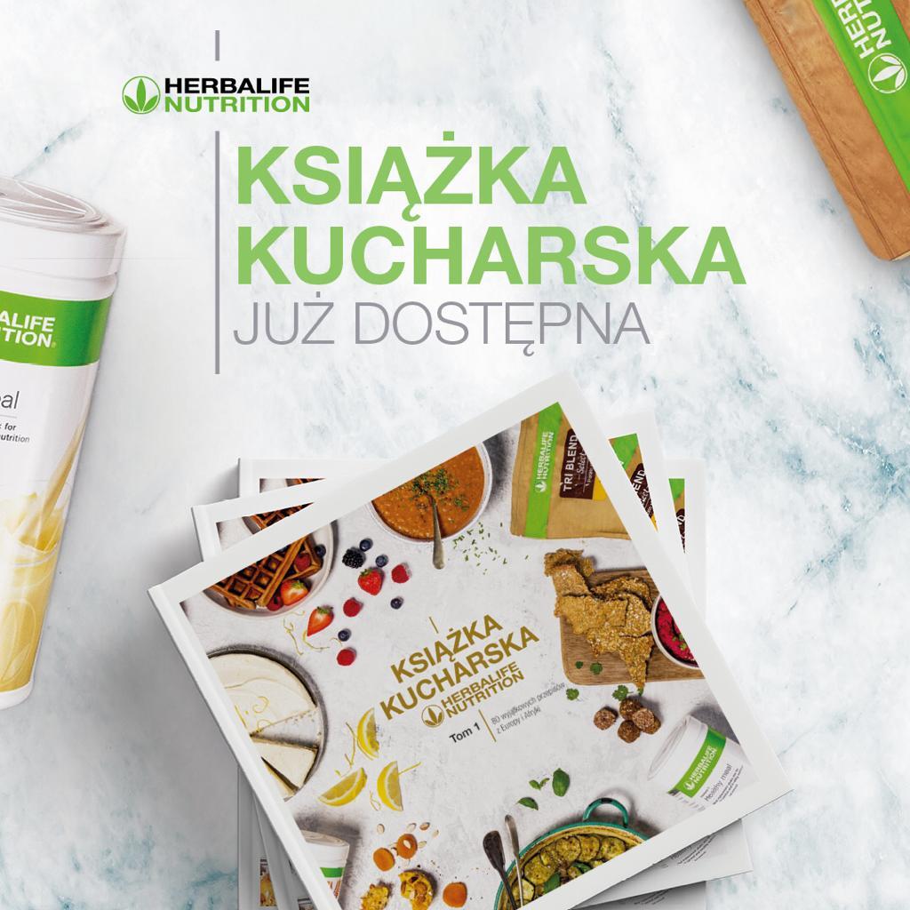 Ksiazka Kucharska Herbalife Nutrition Niezalezny Partner Herbalife Karolina Czapiewska